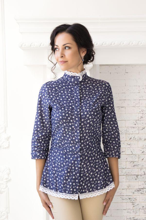 Блуза-Туника «Джинса»