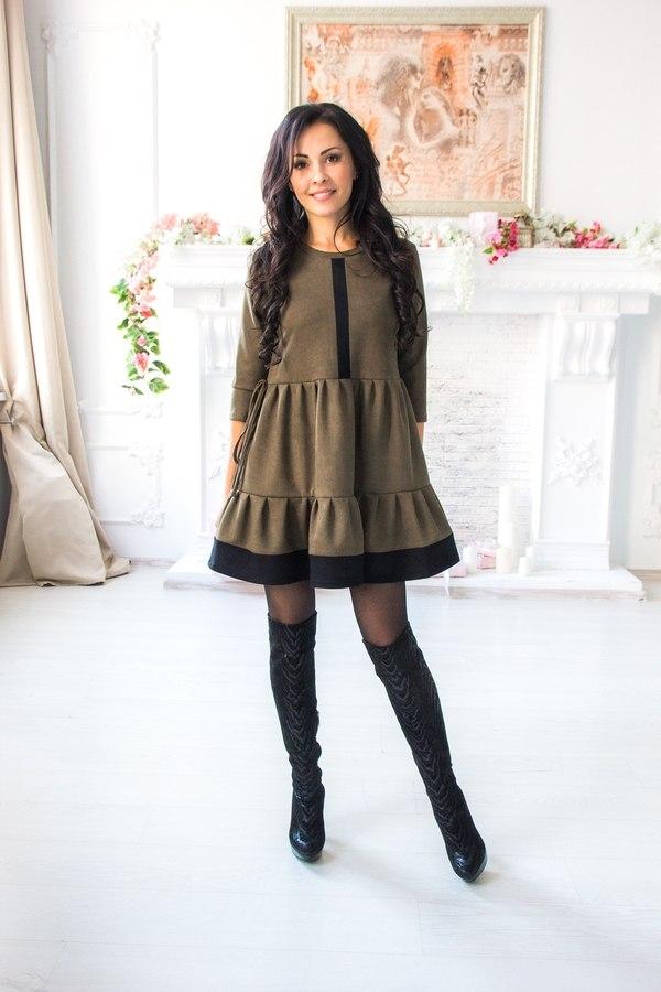 Платье «Оливка»