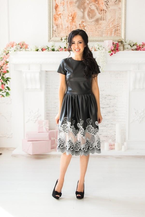 Платье «Уголёк»